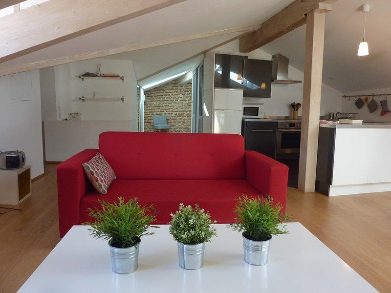 Küche Ansicht Wohn