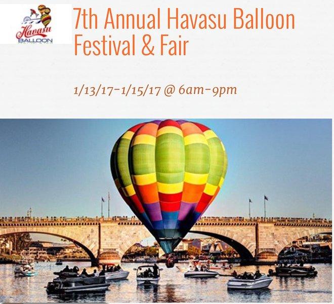 2017 Balloon Festival 3 minutes away.