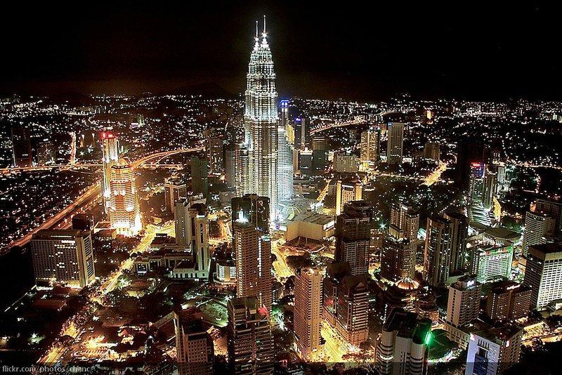 Kuala Lumpur. The city that never sleeps.
