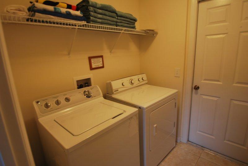 laundry room, 1st floor
