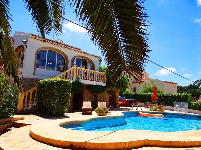Holiday villa perfect for family holidays in Javea, location de vacances à Javea