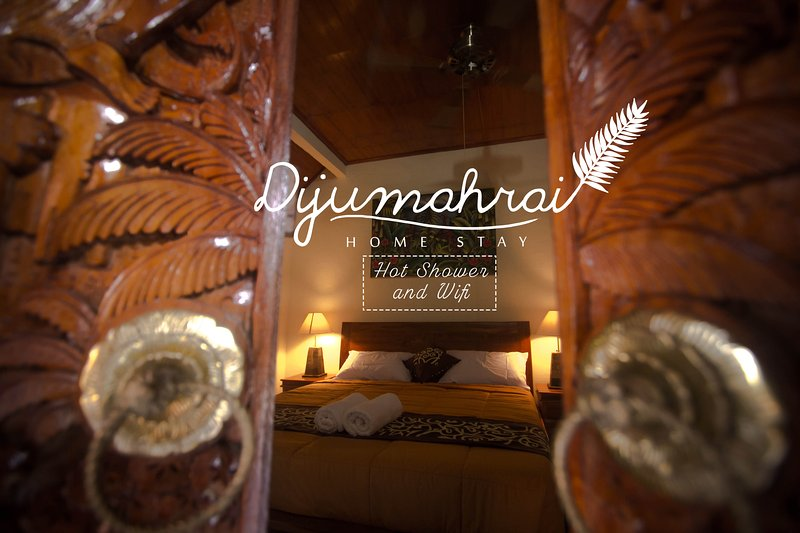 bedroom on balinese style house
