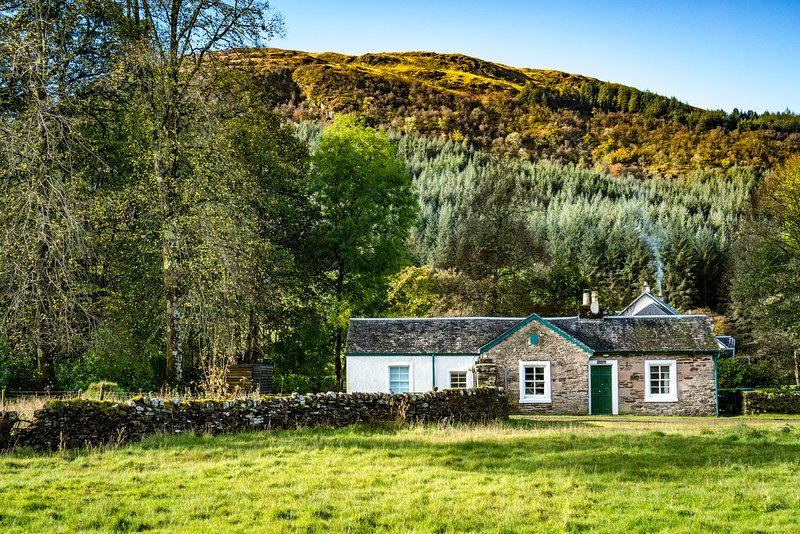 Rural self-catering, nr Tighnabruaich, Argyll, location de vacances à Ardrishaig
