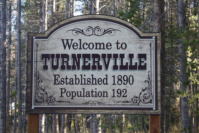 Turnerville, WY is located one hour south of Jackson Hole, WY.