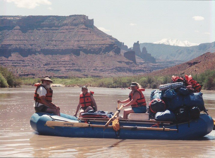 Here we are on the Colorado River near Moab Ut