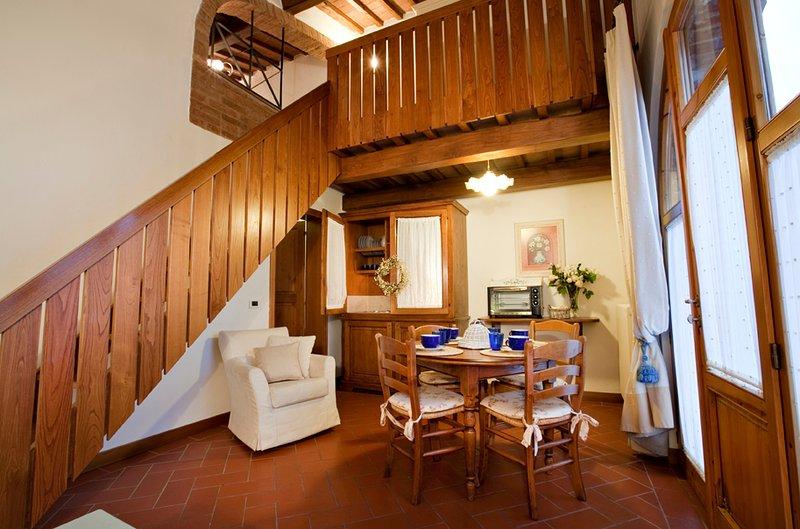 Appartamento Basilico, alquiler vacacional en Gambassi Terme