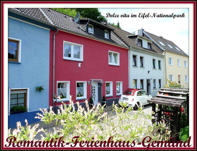 Romantik-Ferienhaus-Gemünd im Eifelnationalpark am Zentrum, location de vacances à Schleiden