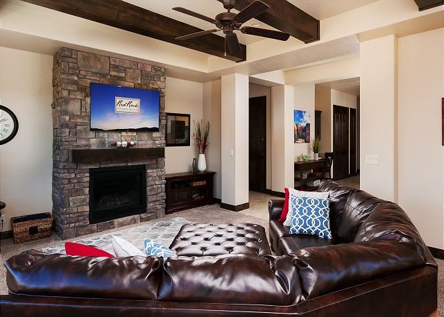 Sala de estar / lareira