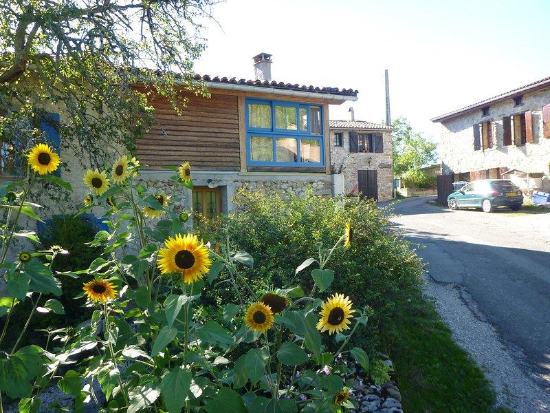 Vakantiehuis in landelijke omgeving, holiday rental in Les Monts d'Olmes