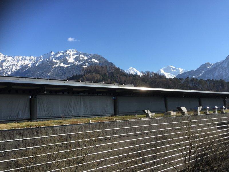 View of Jungfrau massif