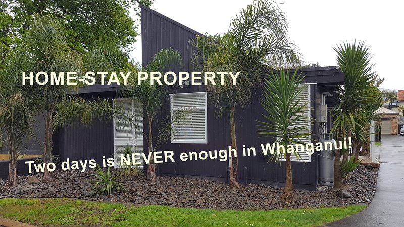 Home-stay. Two days is never enough in Whanganui