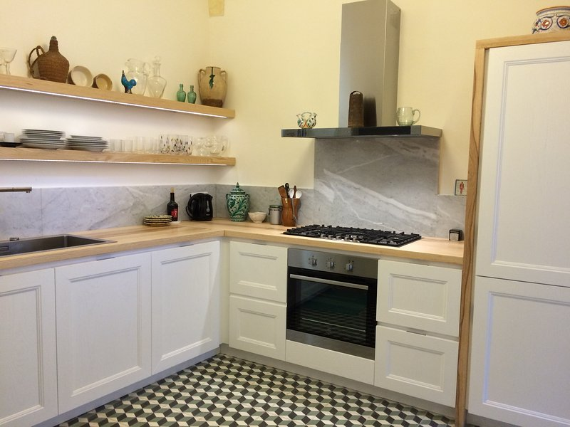 Lovely Home Historic Center Nardò terrace/court, holiday rental in Collemeto