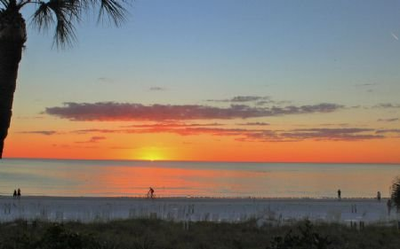 Sunset on Siesta Key!