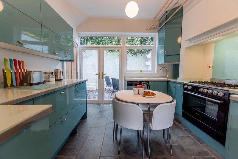 Bright, modernised kitchen