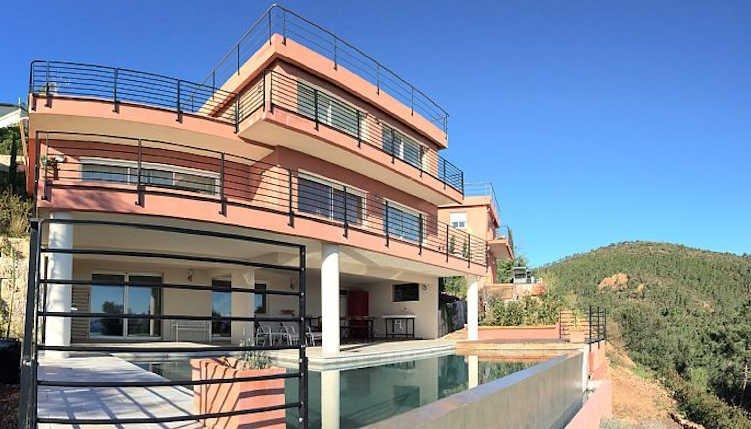 vivenda privada em Theoule-sur-Mer, perto de Cannes, sul da França