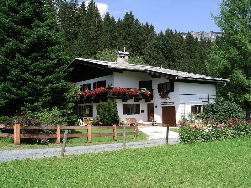 Fliegerklause, holiday rental in Going