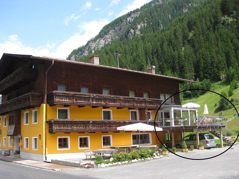 Alte Post, vacation rental in St. Leonhard im Pitztal