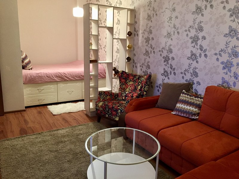 Best New Apartment with gorgeous city view, alquiler vacacional en Akmola Province