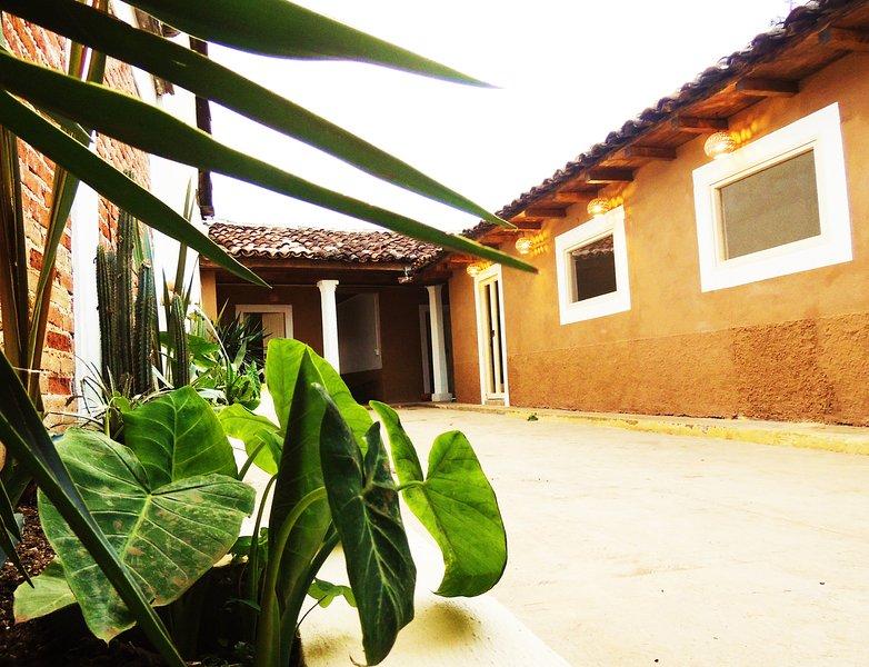 Un brin de nature dans LA CASA DE LOS CACTUS, location de vacances à Chiapas