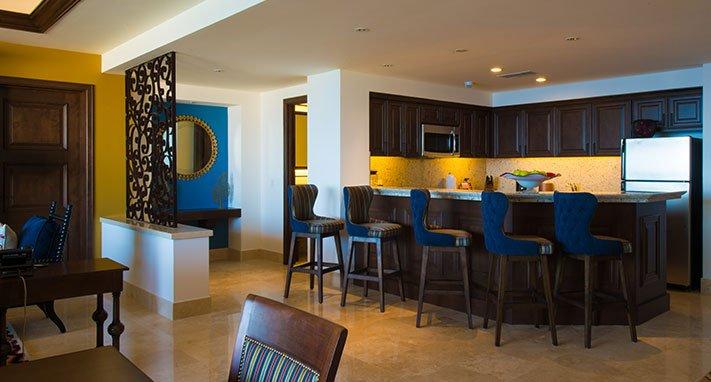 Área de cocina.