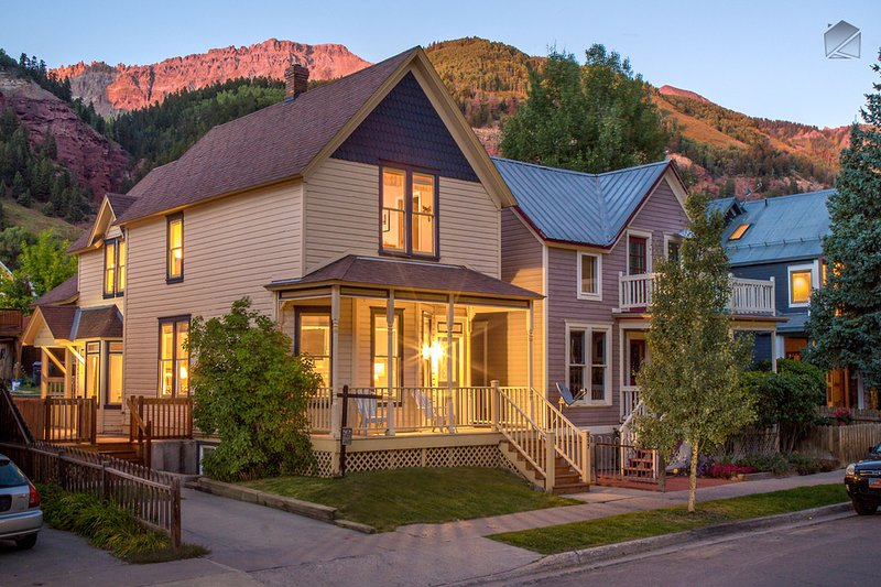 The Historic Thompson House is right in the center of Telluride - walking distance to all the town has to offer.