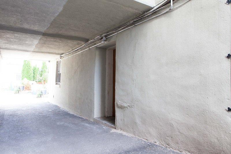 Porte d'entrée à l'appartement
