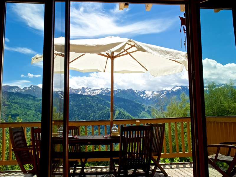 Amazing chalet with terrace, vacation rental in Ax-les-Thermes