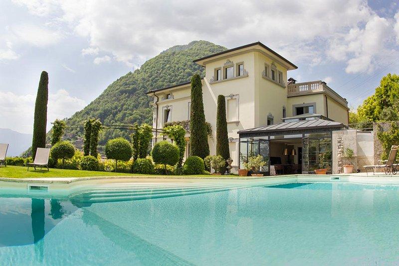Villa del Conte Villa del Conte, holiday rental in Cerano D'intelvi
