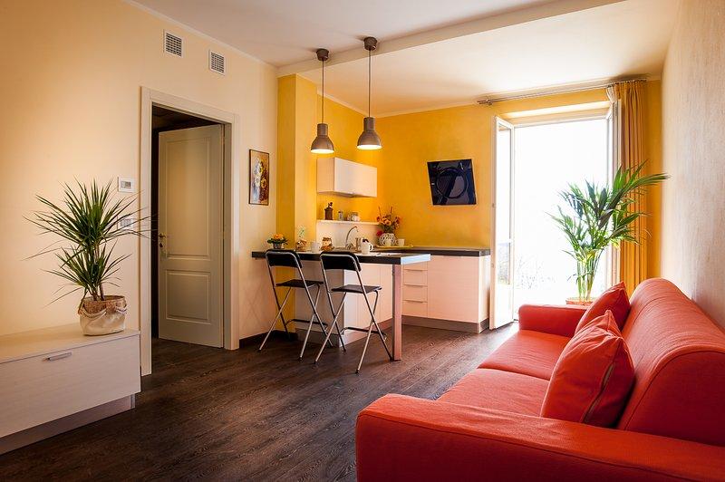 Arc en Ciel Appartamenti vacanze ' Giallo', Ferienwohnung in Capriglio