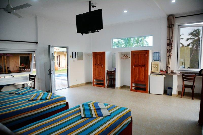 Pool view Room 3