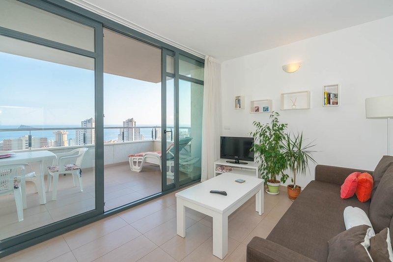 Apartamentos Platinum_Benidorm_Wifi_Seaview, alquiler vacacional en Benidorm