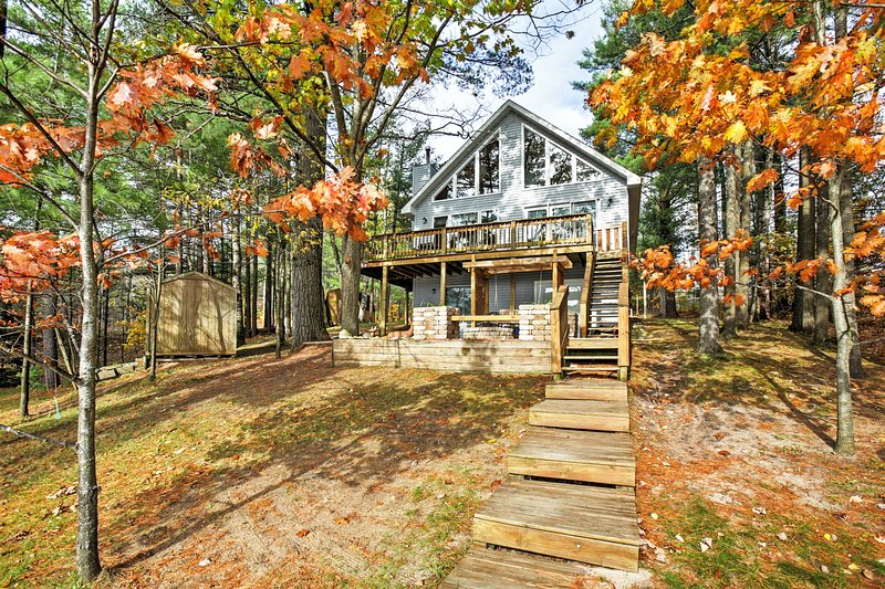 Let this Gaylord vacation rental home serve as your ultimate lake getaway!