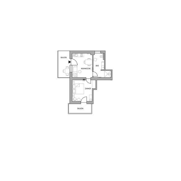 Apartment Zielspitz - Schwarzsee, vacation rental in Ultimo