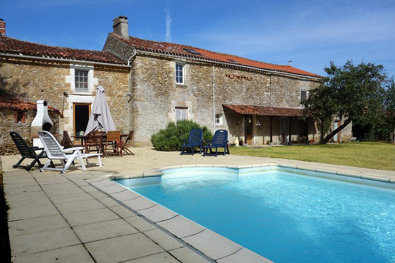 The French Forge, holiday rental in Tallud-Sainte-Gemme