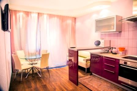 Apartaments on Aviatorov, aluguéis de temporada em Ilimpiysky District