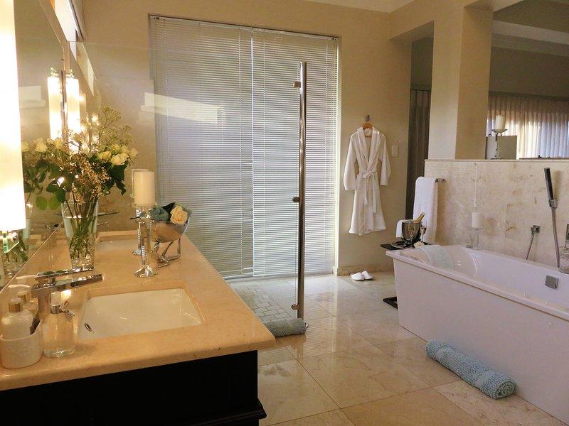 Presidential bathroom with spa bath