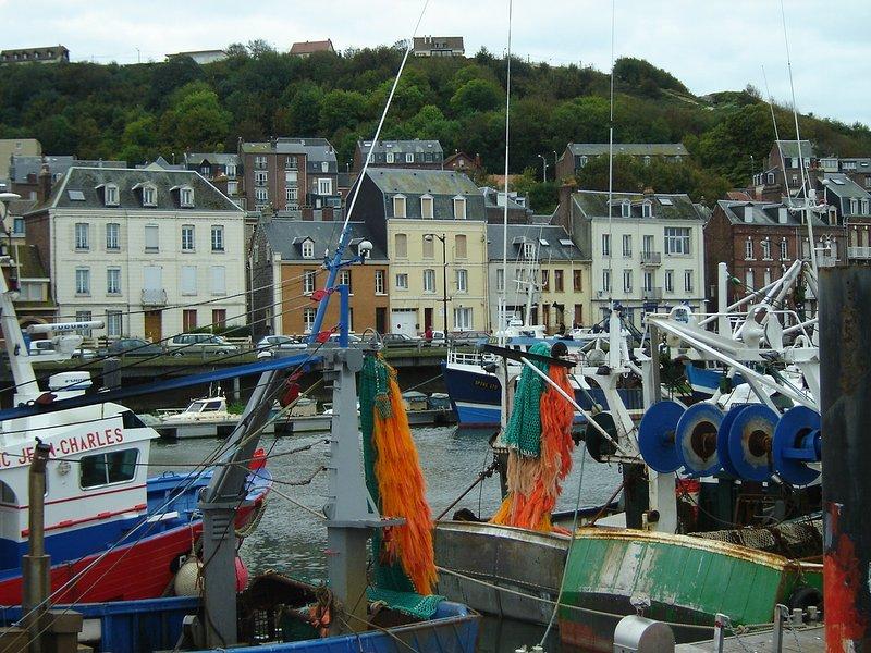 Agréable logement avec vue sur port et mer, holiday rental in Eu