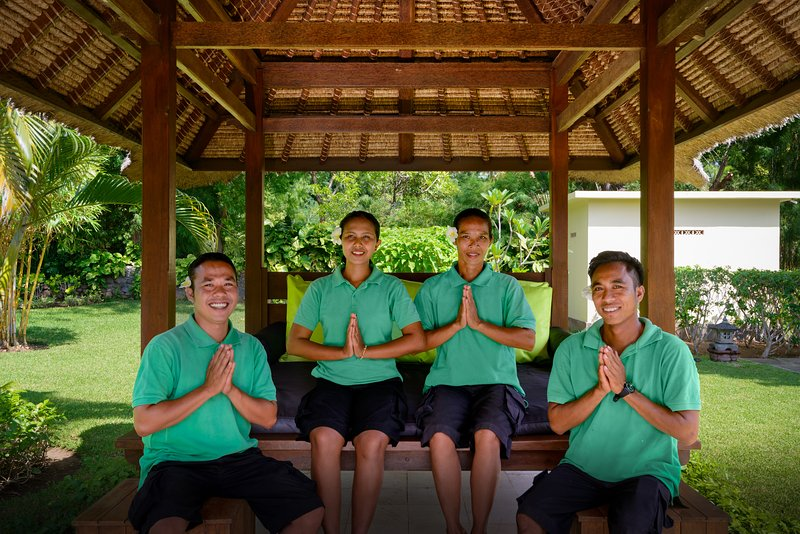 The staff who will take care of you during your stay