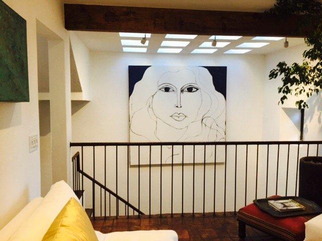 Un ambiente rústico / contemporánea en Casa Cho Co Latte