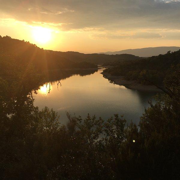 Nearby Lac de St Cassien