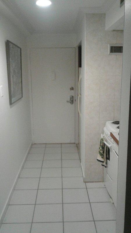 Hallway/ Full Kitchen