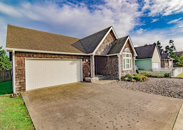 Close to beach and one block from the Golf Course