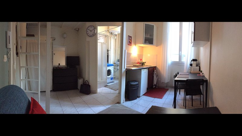 Appartement 4 personnes très bien situé au centre ville Montrouge, holiday rental in Chatenay-Malabry
