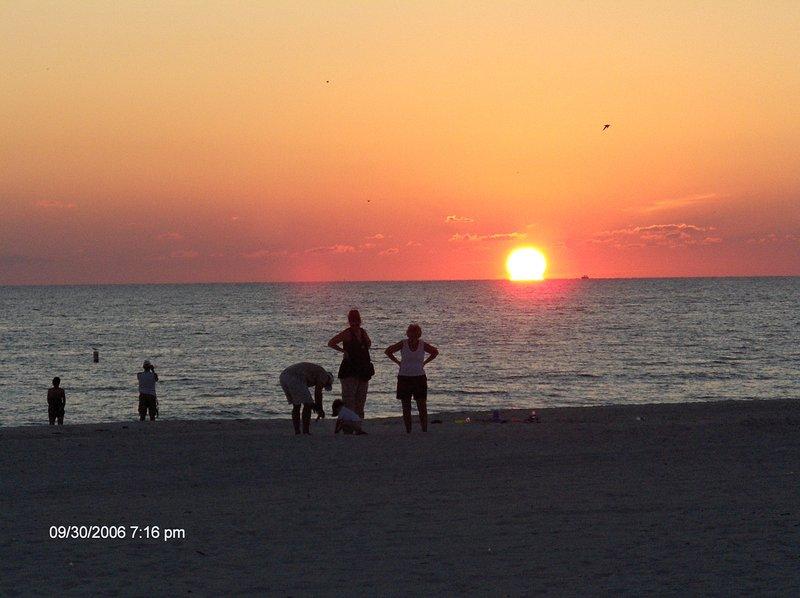 Surf Song Beach Sunset