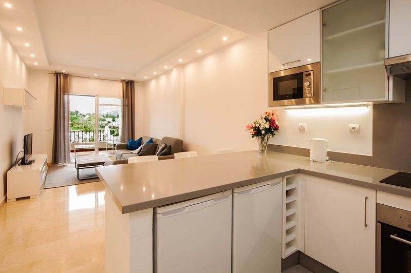 kitchen/living rooom