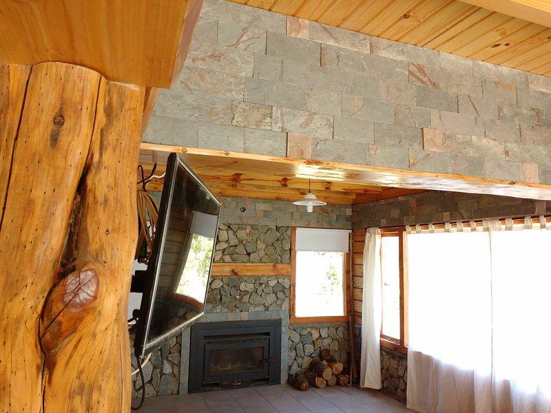 Cabaña en Moquehue a 20 kms Villa Pehuenia, alquiler vacacional en Provincia de Neuquen