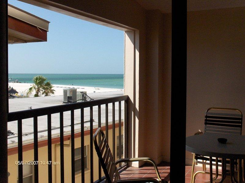 Beach View Side de varanda privada