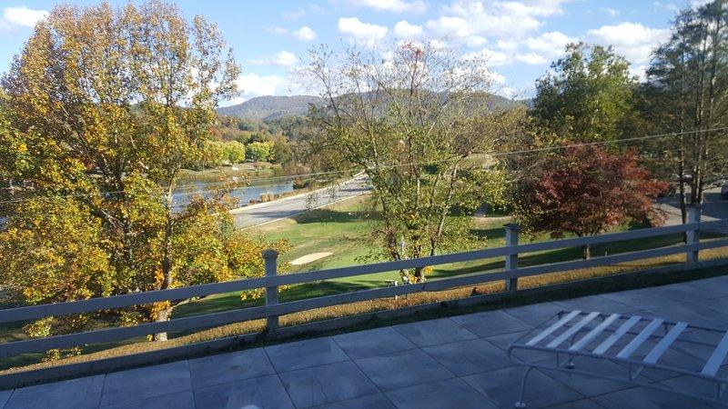 Views of Golf Course, Lake Junaluska and Smoky Mountains