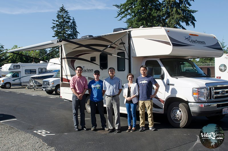 RV rental in Bellevue, viarv llc, price include 100 miles ...