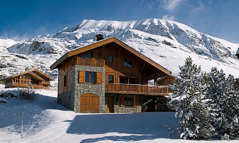 Chalet 4 étoiles au pied des pistes - Séquoia, alquiler vacacional en L'Alpe-d'Huez
